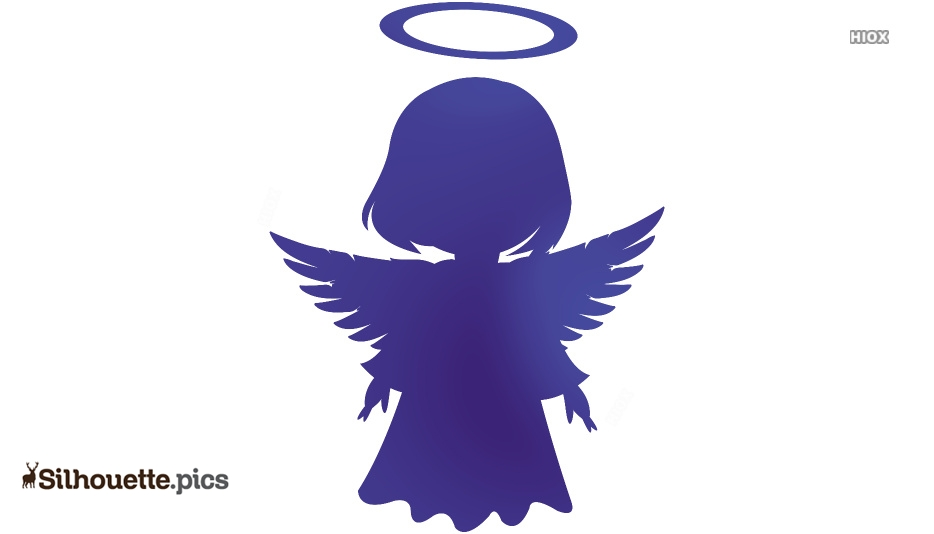 Cartoon Angels Illustration Silhouette Drawing