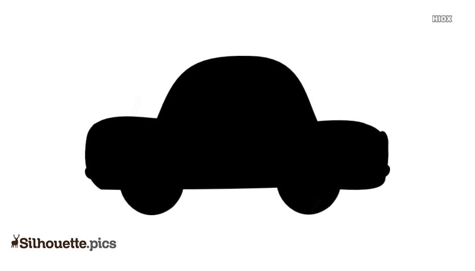 Cartoon Car Clip Art Silhouette