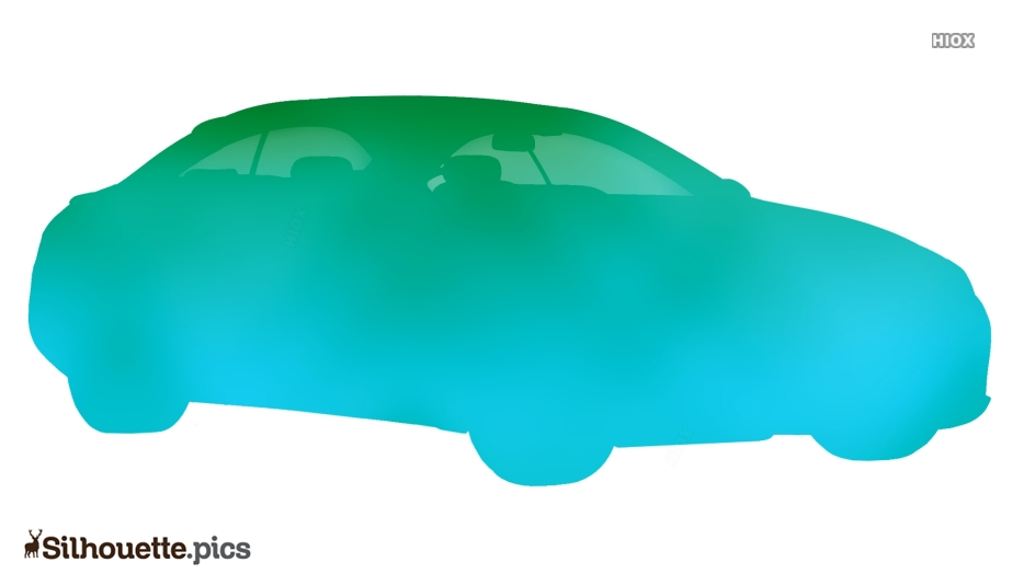Cartoon Car Silhouette Clipart
