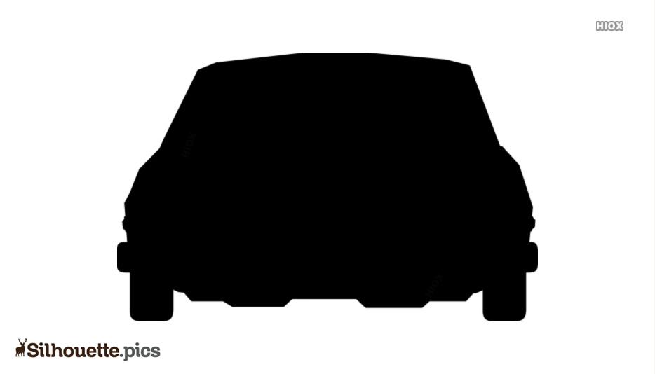 Cartoon Car Silhouette Free Vector Image