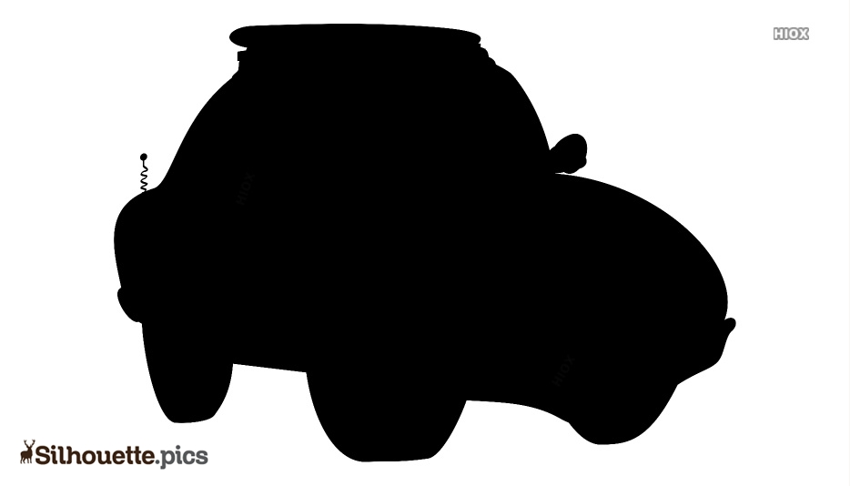 Cartoon Car Silhouette Image And Vector Image