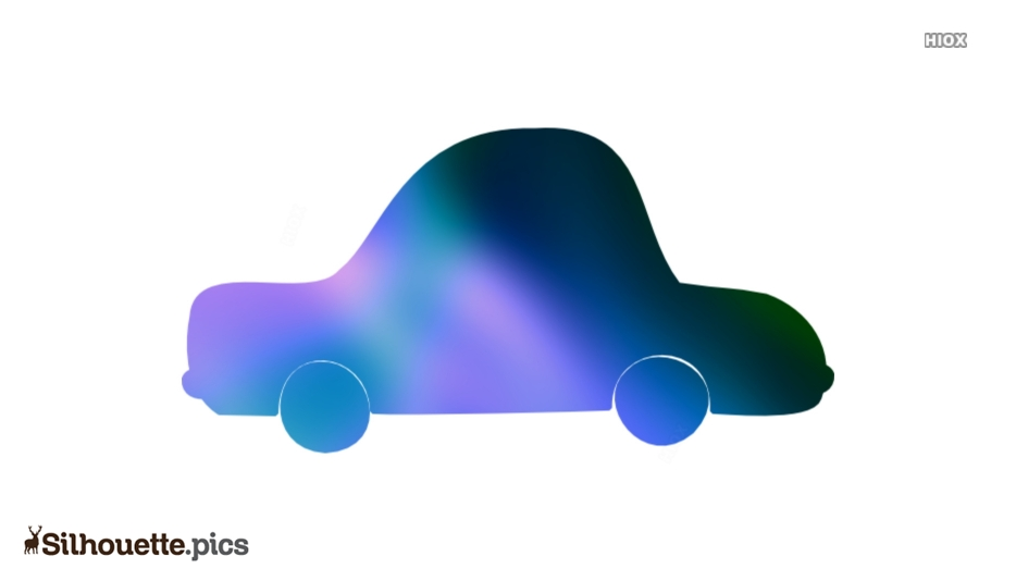Cartoon Car Silhouette Vector And Graphics Illustration