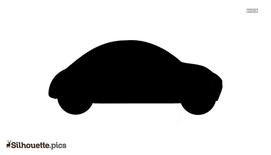 Cartoon Car Toy Silhouette