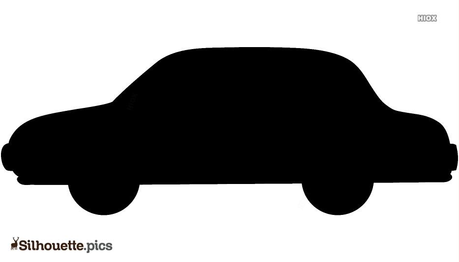 Cartoon Cartoon Car Silhouette