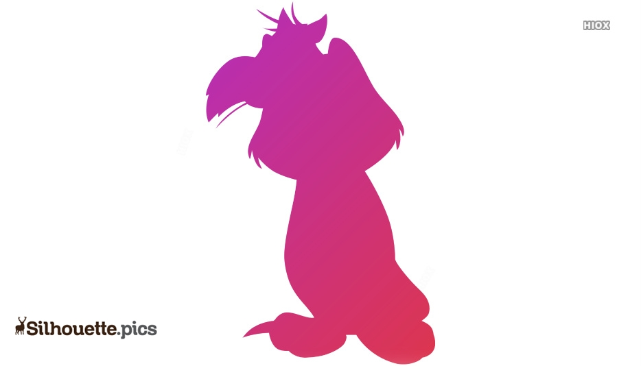 Cartoon Character Image Silhouette