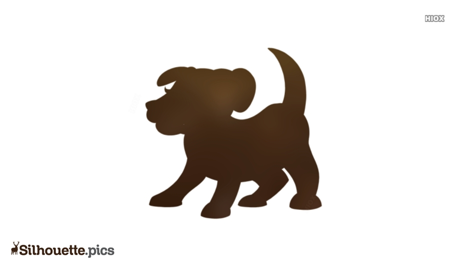 Cartoon Dog Pet Animals Silhouette