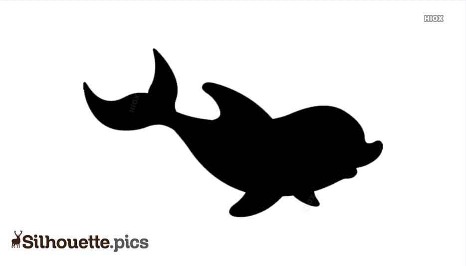 Cartoon Dolphin Hd Silhouette