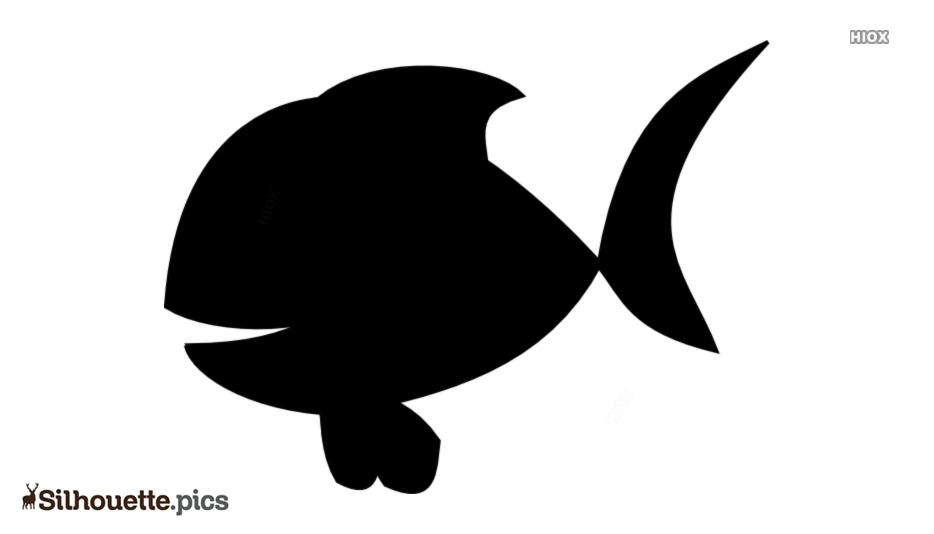 Cartoon Fish Silhouette Art