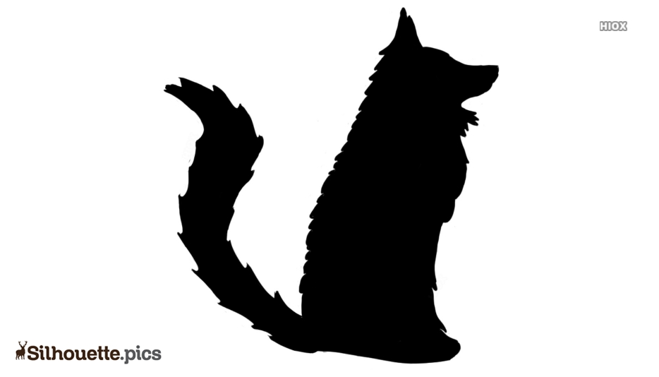 Cartoon Fox Silhouette Clipart