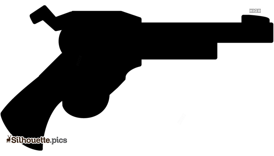 Cartoon Pistol Silhouette Images