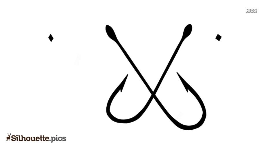 Cartoon Hook Symbol Silhouette