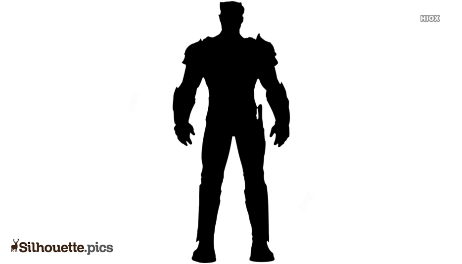 Cartoon Korath Character Silhouette