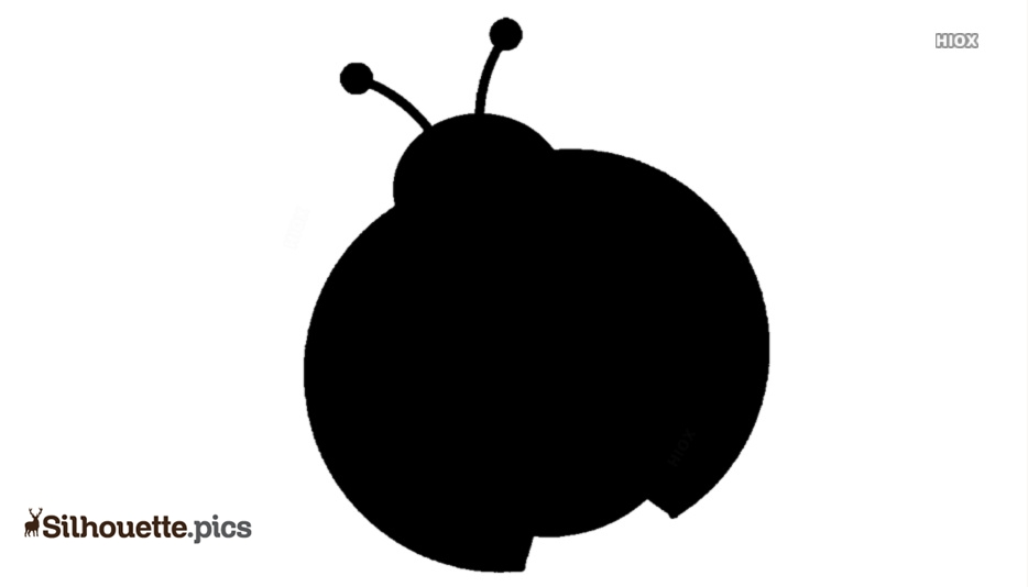 Cartoon Ladybug Silhouette
