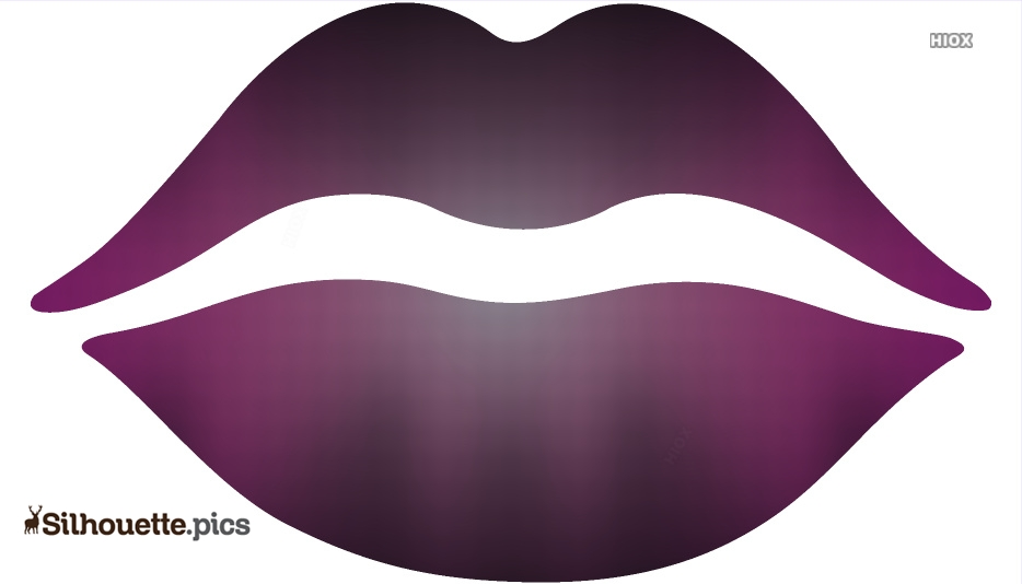 Cartoon Lips Silhouette Images