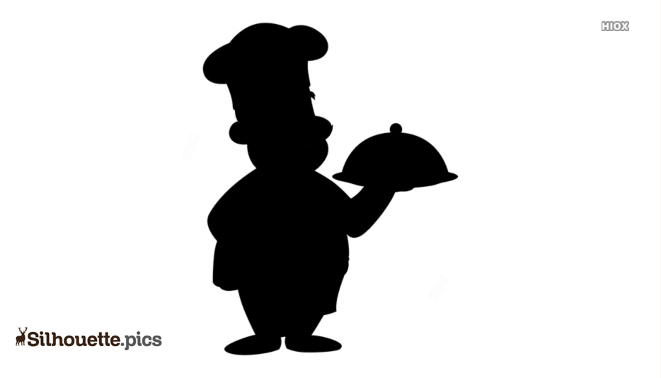 Cartoon Chef Silhouette Images