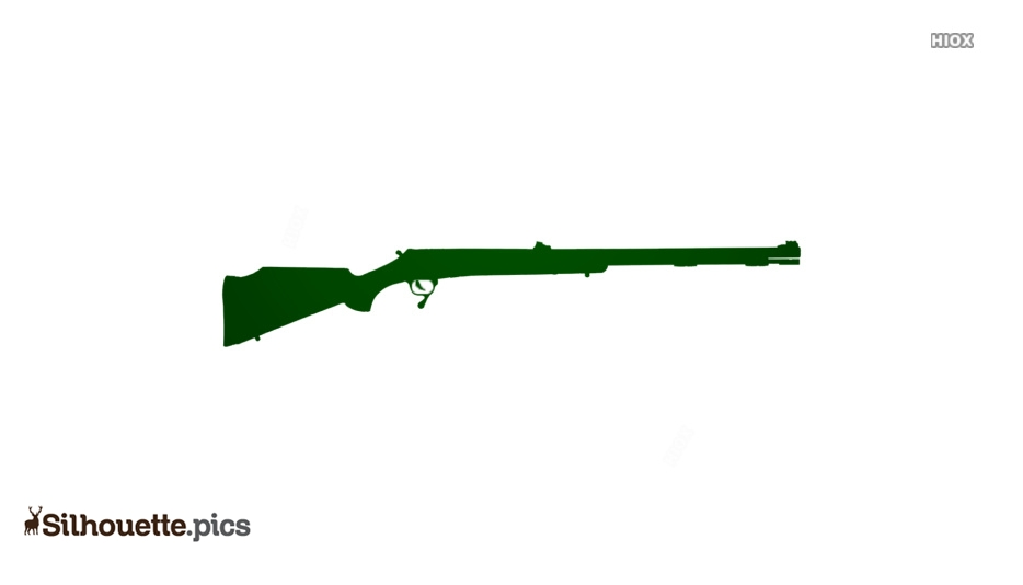 Cartoon Rifle Silhouette Images