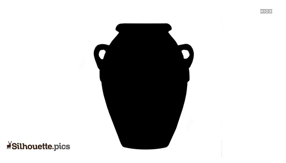 Terracotta Pot Silhouette Images