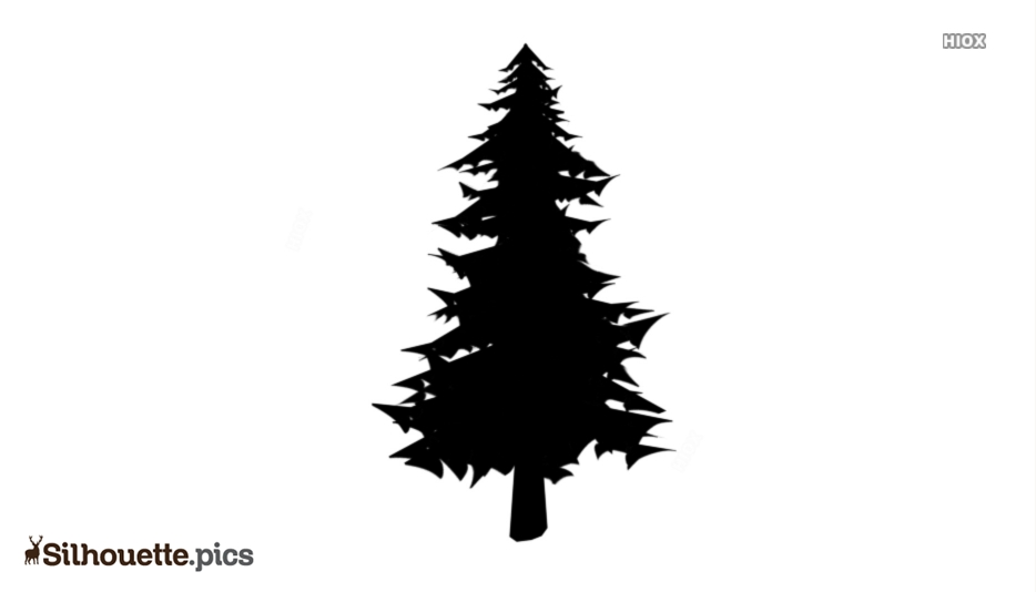 Cartoon Tree Silhouette Clip Art Download For Free
