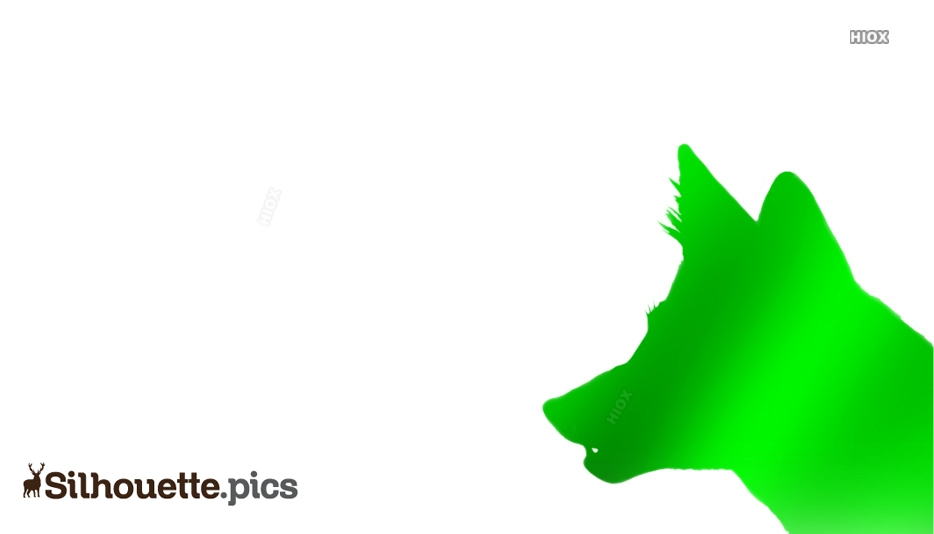 Green Silhouette Images