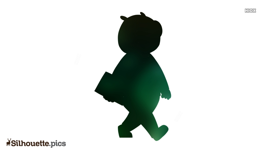 Character Reflux Silhouette Image And Vector