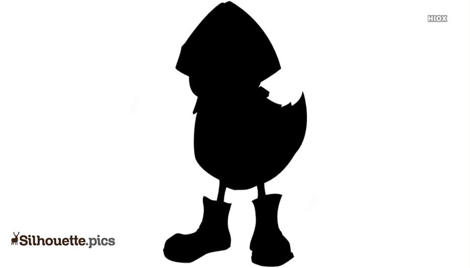 Chick Silhouette Vectors, Images