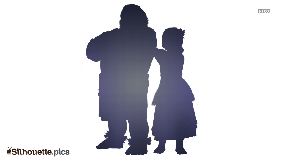Chief Tui Character Silhouette Art