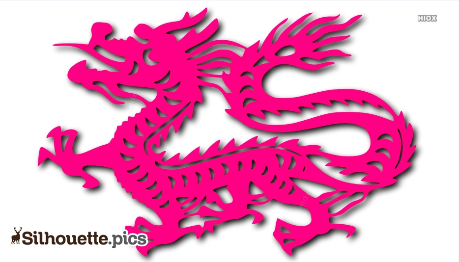 Chinese Dragon Silhouette Images