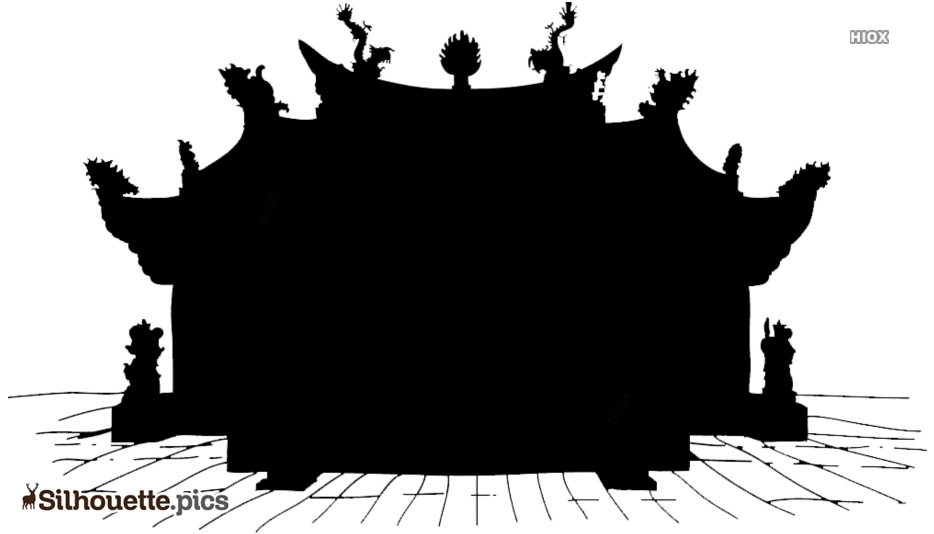Chinese Palace Silhouette