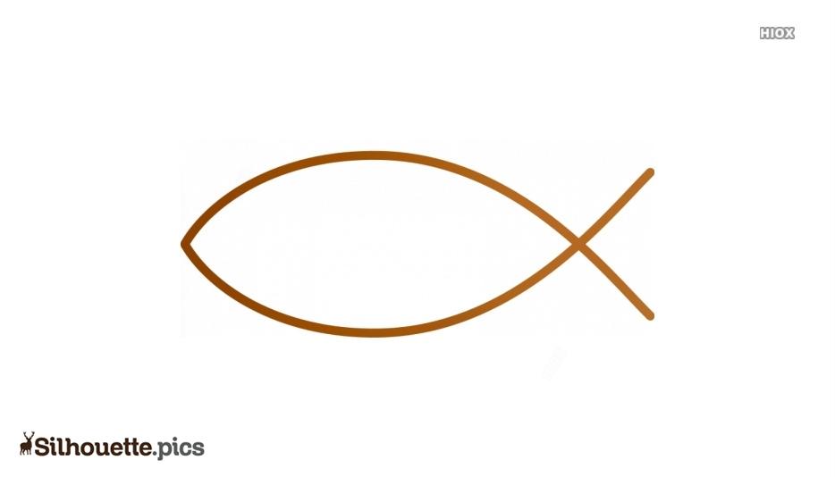 Christian Fish Silhouette Clip Art