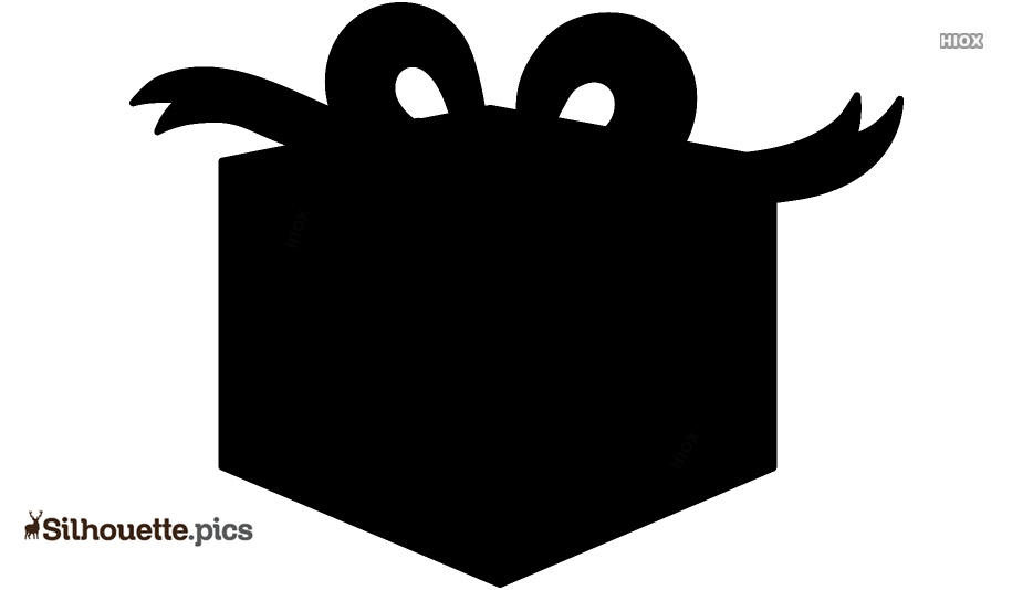 Christmas Presents Silhouette Vector Clipart Images Pictures