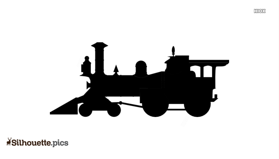 Cartoon Train Silhouette Pics, Vectors