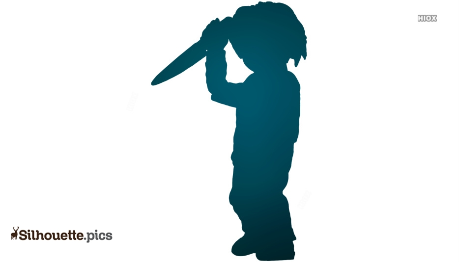 Chucky Toy Silhouette