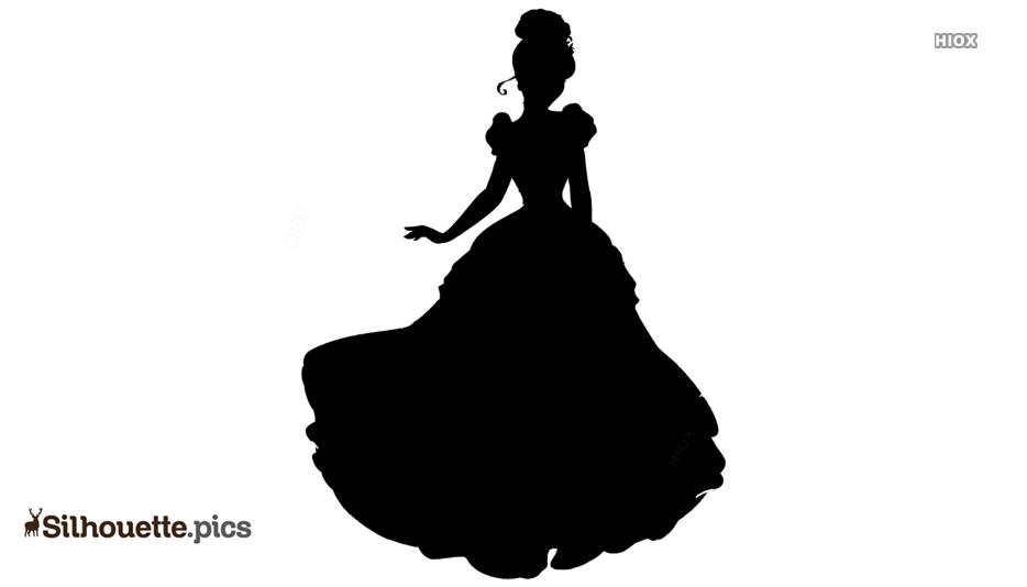 Cinderella Beautiful Silhouette