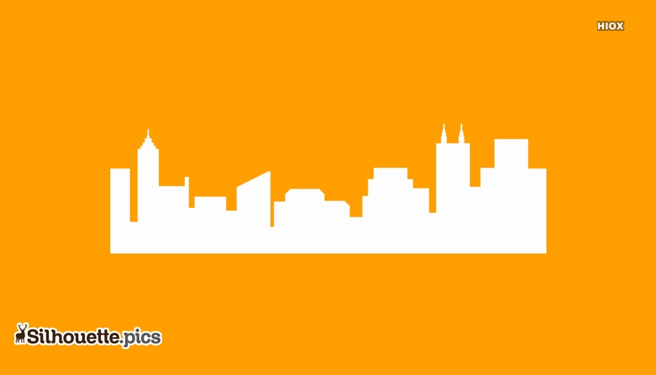 City Skyline Silhouette Images