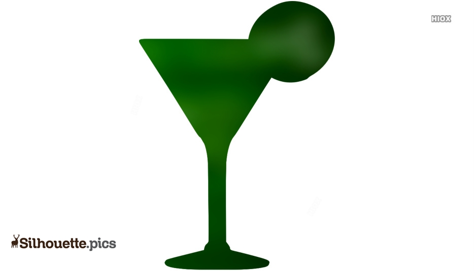 Cocktail Glass Silhouette Images