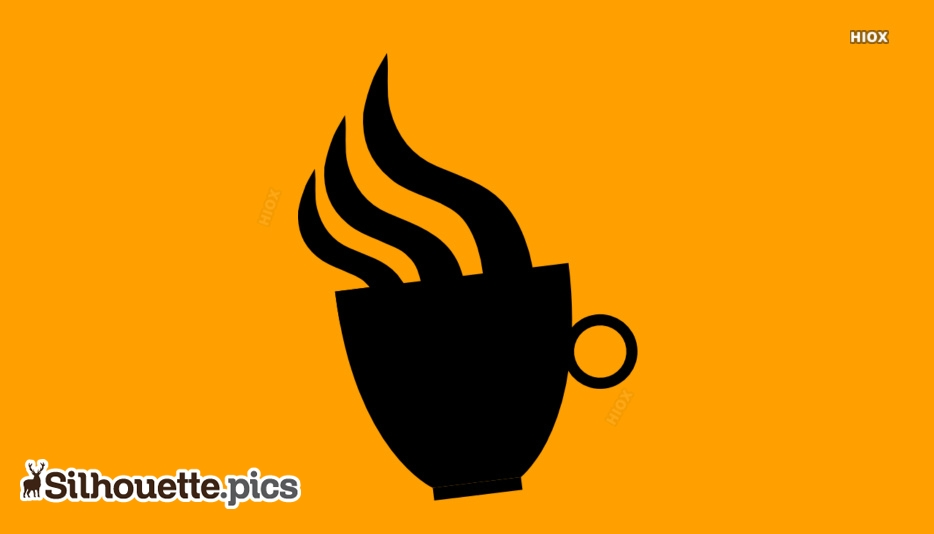 Coffee Cup Silhouette Image