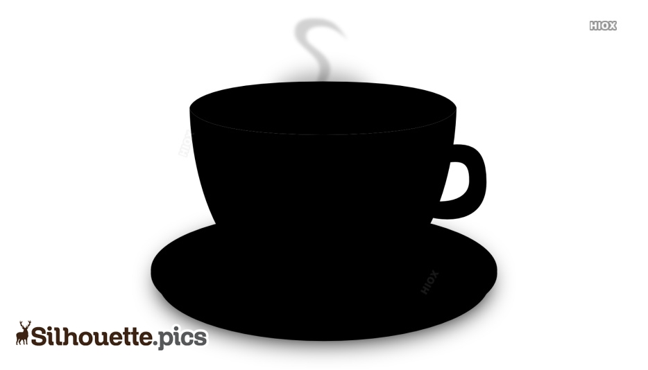 Cup And Saucer Silhouette Images, Pictures