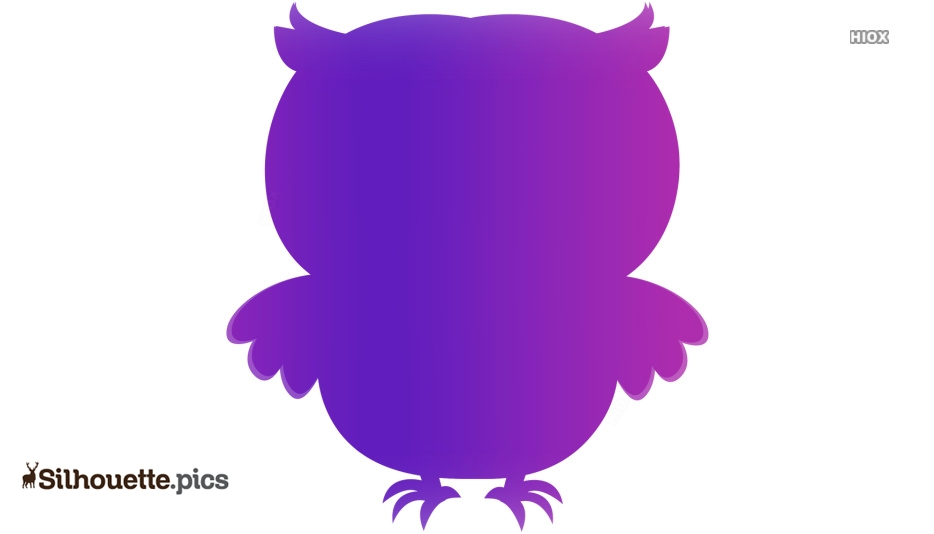 Colorful Owl Silhouette Image