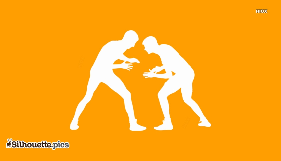 Combat Fighting Silhouette Picture