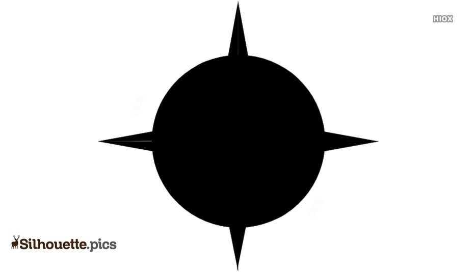 Compass Silhouette Images, Pics