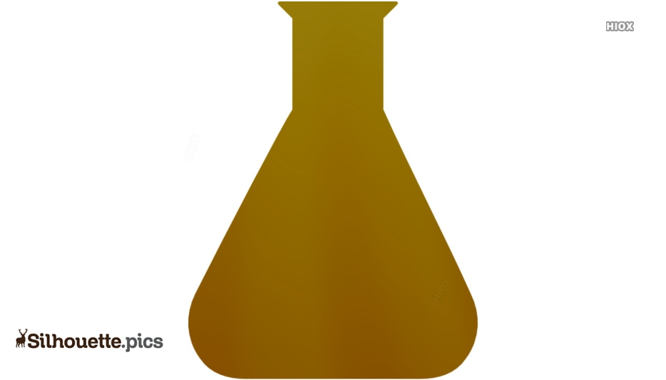Conical Flask Stock Photos Silhouette