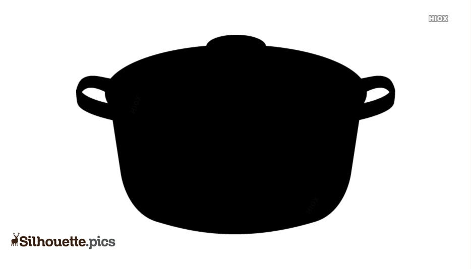 Cooking Pot With Lid Silhouette