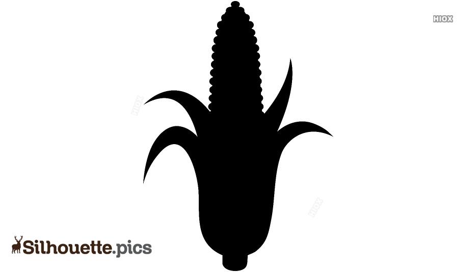 Corn Cob Silhouette Images