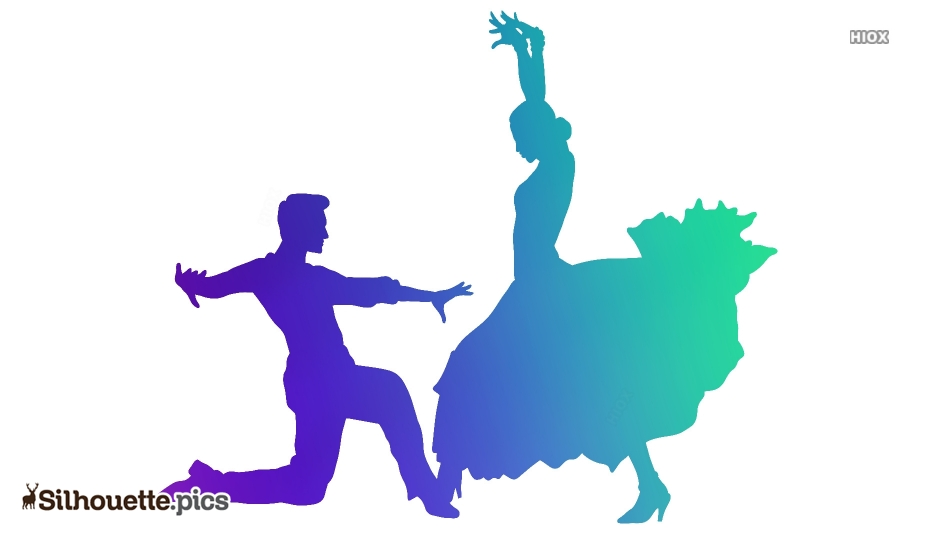 Couple Dancing Silhouette Images