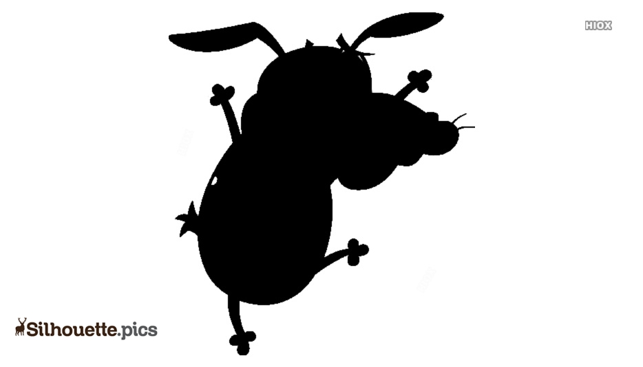 Courage The Cowardly Dog Character Giant Bomb Silhouette