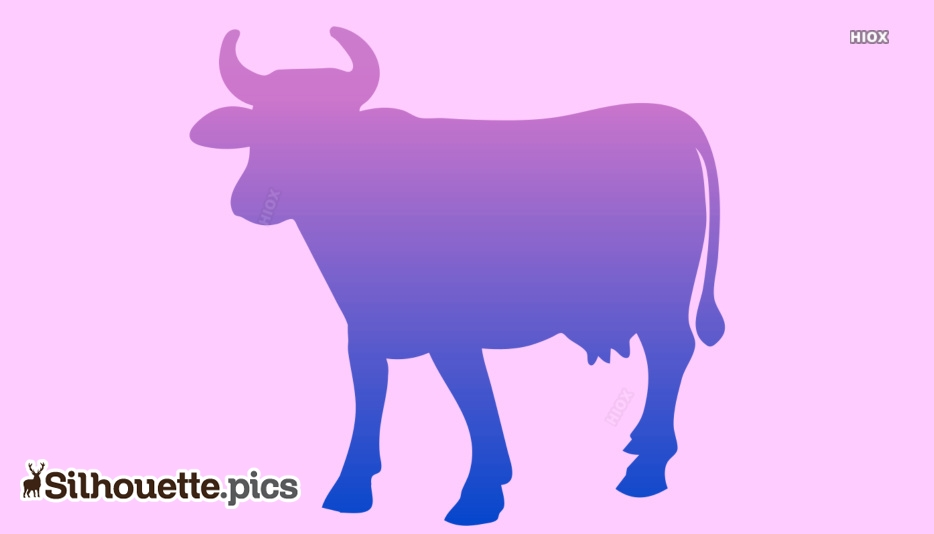Cow Silhouette Images