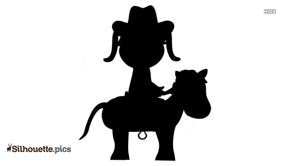 Cowgirl Riding A Horse Silhouette Free Download