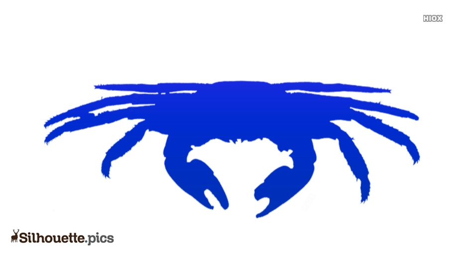Crab Lice Silhouette Art