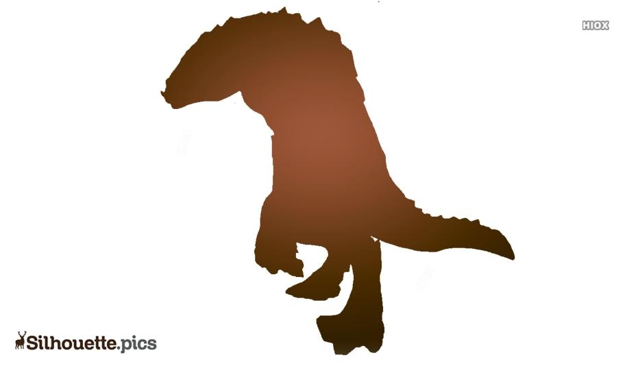 Crocodile Head Profile Clipart Silhouette