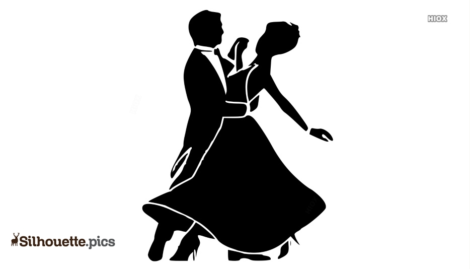 Cumbia Dance Silhouette Image And Vector